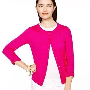 Kate Spade Somerset Knit Cardigan Hot Pink